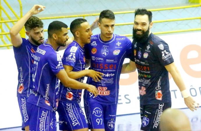 Foz Cataratas Futsal encara o Cascavel Futsal nesta sexta