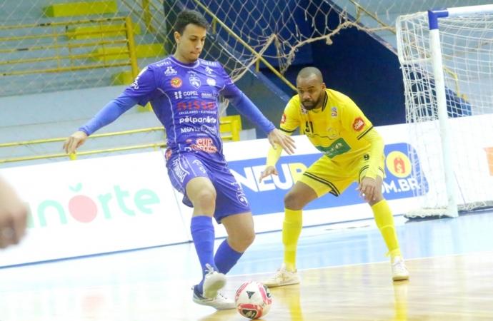 Foz Cataratas Futsal recebe o Marechal nesta segunda