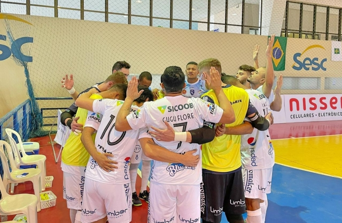 Foz Cataratas Poker Futsal vence o Brasília pela Liga Nacional