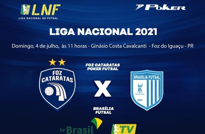 Foz Cataratas recebe o Brasília neste domingo com transmissão da TV Brasil