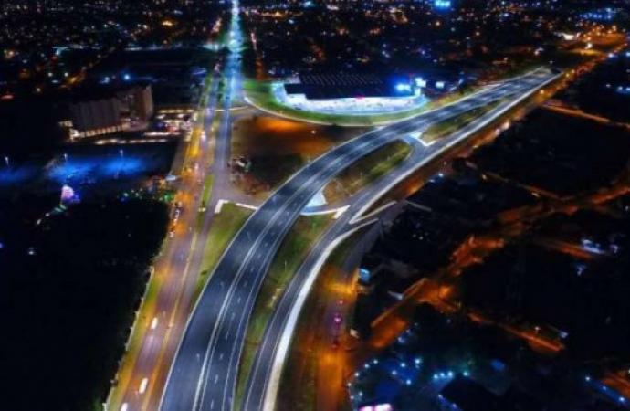Foz do Iguaçu, Santa Terezinha e São Miguel receberão nova iluminação em trechos urbanos da BR-277