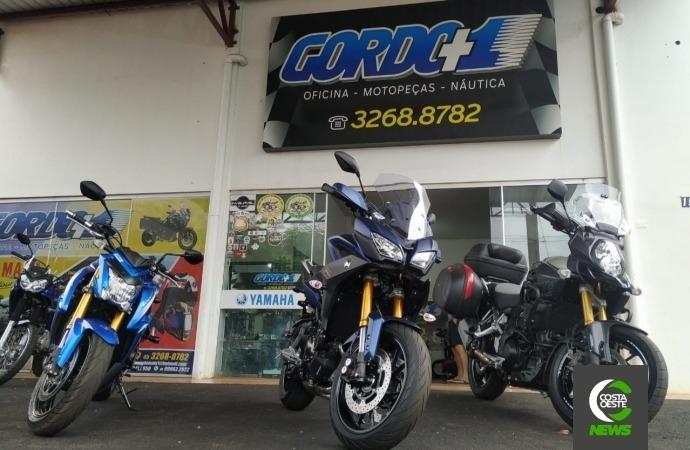Gordo +1 é sua oficina de motos multimarcas em Santa Helena; vem aí super promoção Dia dos Namorados