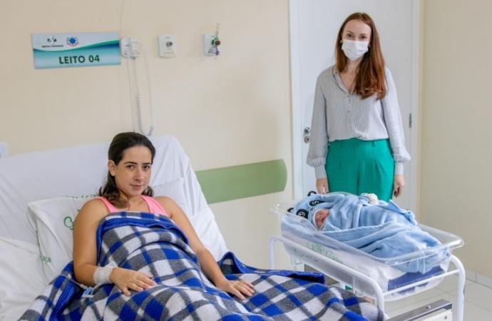 São Miguel do Iguaçu reabre a Maternidade e registra primeiro parto