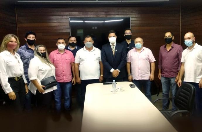 Governo Municipal de São Miguel se reúne com o secretário estadual de Infraestrutura e Logística