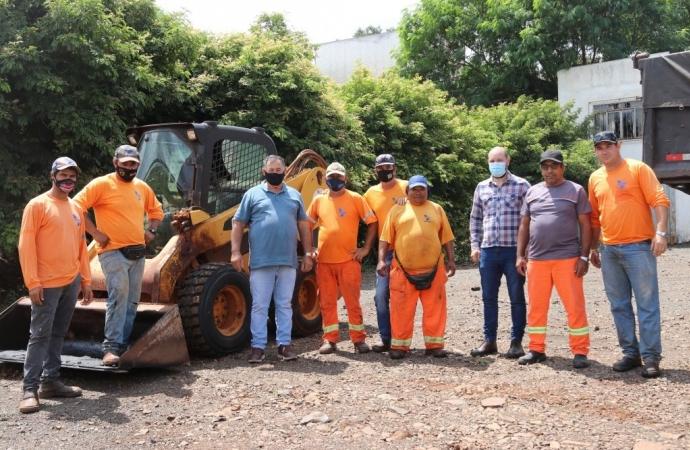 Governo Municipal inicia operação tapa-buracos em São Miguel do Iguaçu