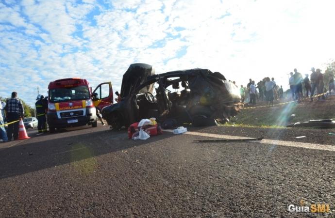 Grave acidente é registrado na BR 277 em São Miguel do Iguaçu