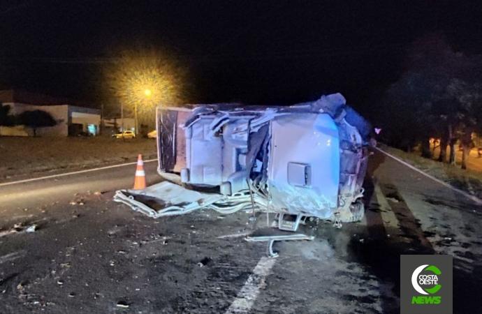 Grave acidente é registrado na BR-277 em São Miguel do Iguaçu