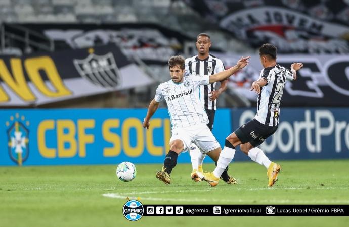 Grêmio tem confronto direto com Atlético-MG nesta quarta-feira (20)