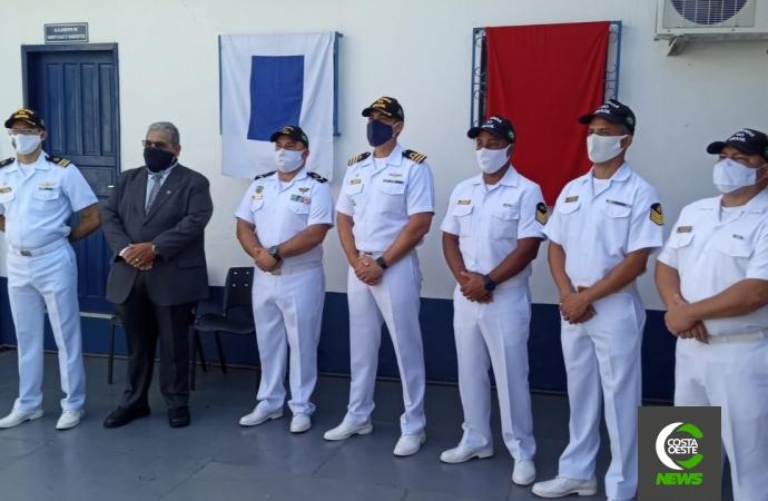 Guaíra: Militares da Marinha recebem reconhecimento por ato heroico