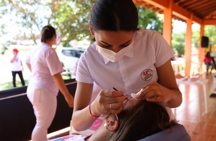 Guaíra realiza mais uma ação alusiva da Campanha Outubro Rosa