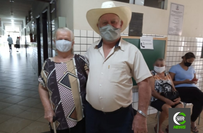Guaíra segue vacinação contra Covid-19 em idosos, trabalhadores e profissionais de saúde