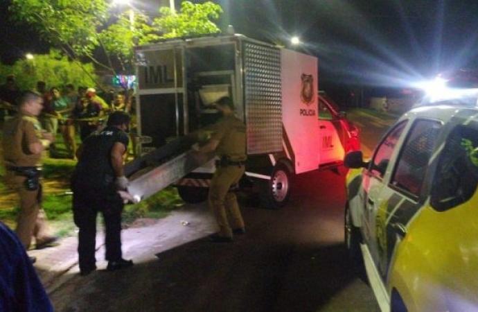 Homem é morto a tiros e mulher é baleada em São Miguel do Iguaçu