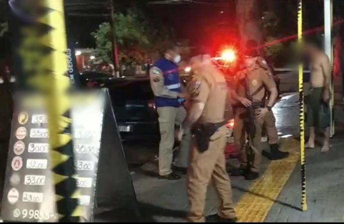 Homem é morto a tiros na Avenida Mario Filho, na região do Portal da Foz