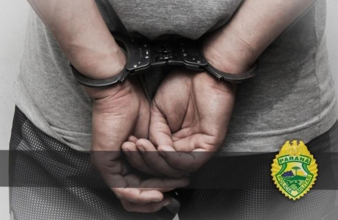 Homem é preso pela PM por violência doméstica em Missal