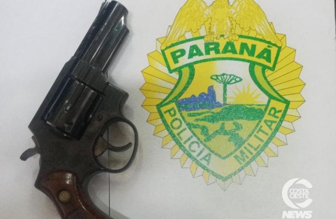 Homem é preso por porte ilegal de arma de fogo em Medianeira