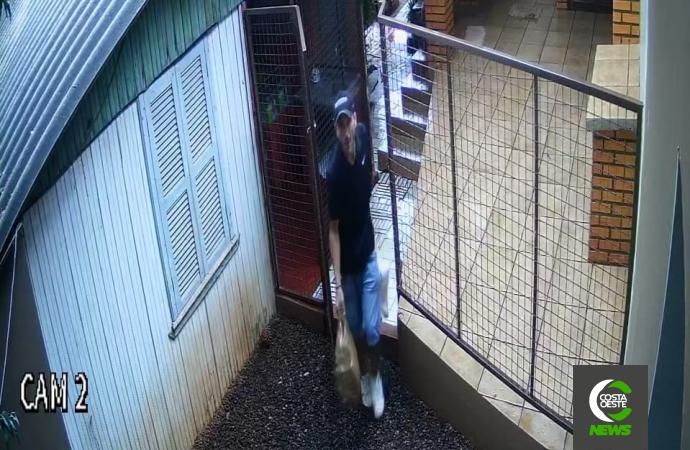 Homem pratica furto duas vezes no mesmo dia em residência de Santa Helena