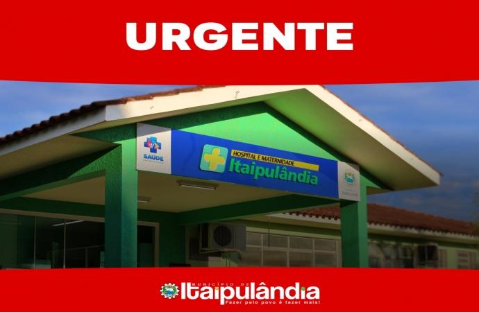Hospital e Maternidade de Itaipulândia está sem vagas na ala Covid-19