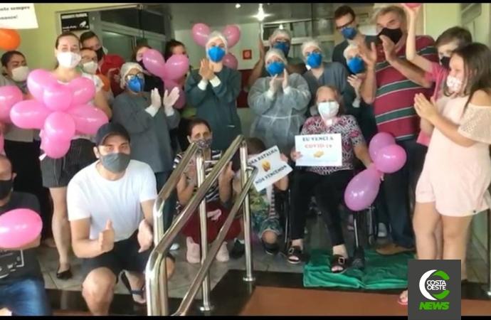Hospital e Maternidade registra quarta alta da UTI Covid; vídeo