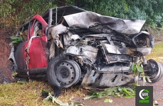 Identificadas vítimas que morreram no grave acidente na BR 277 em São Miguel do Iguaçu
