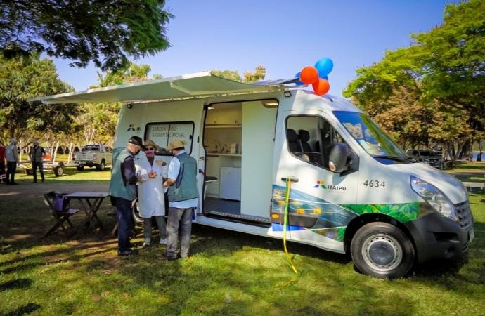 Itaipu inaugura laboratório móvel para ajudar no monitoramento ambiental