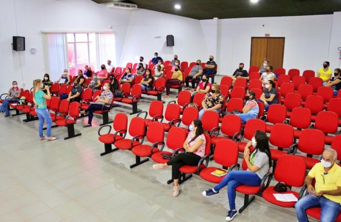 Itaipulândia: Secretaria de Saúde promove formação para professores da Rede Pública Municipal de Ensino