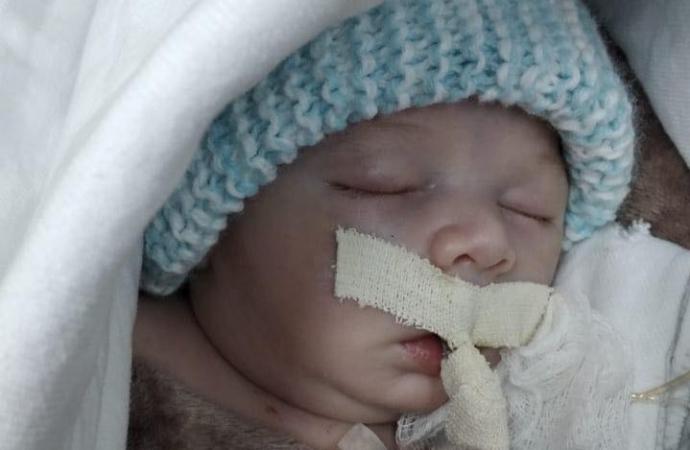 Jovem casal de Santa Helena promove Vakinha para tratamento de saúde do filho recém-nascido