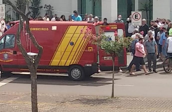 Ladrão é baleado em tentativa de roubo de malote em Santa Terezinha de Itaipu