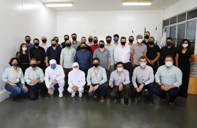 Lar Cooperativa oportuniza curso técnico em eletromecânica aos funcionários