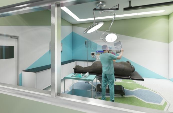 Mais um marco da UNIGUAÇU está chegando para fazer história; o maior Hospital Veterinário da Região está sendo construído em São Miguel do Iguaçu