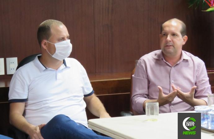 Marcel Micheletto visita Santa Helena e apresenta ideias para a instalação de hospital microrregional