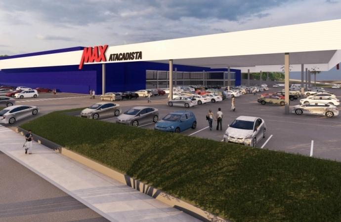 Max Atacadista dá início às obras da nova loja, em Medianeira