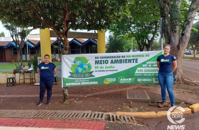 Meio Ambiente realiza nesta quarta-feira (15) a etapa mensal da campanha Recicla SMI