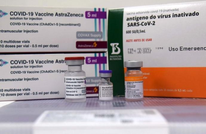 Ministério da Saúde confirma o envio de mais 453,7 mil vacinas contra a Covid-19 ao Paraná