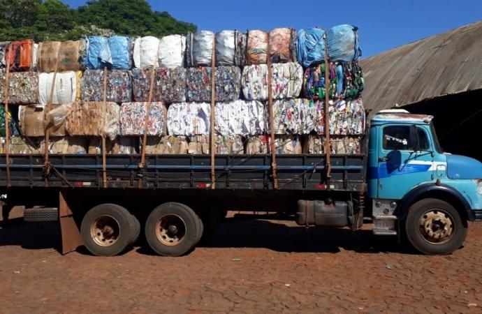 Acamis recolheu 54,9 toneladas de materiais recicláveis no mês de janeiro em Missal
