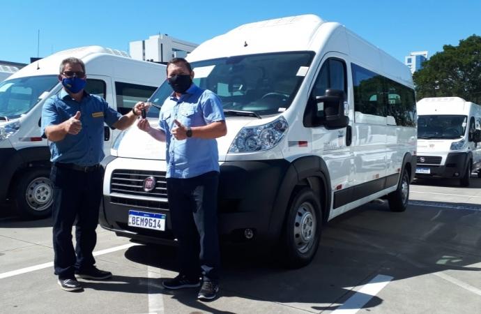 Missal recebe Van do Governo do Estado que será utilizada para o transporte de pacientes