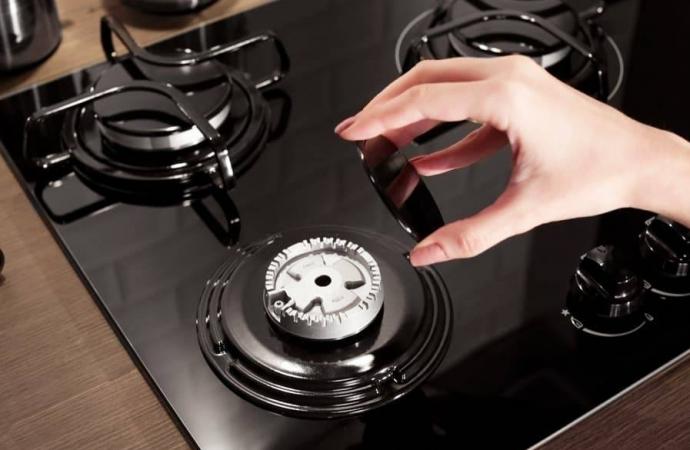 Misturinha mágica para limpar chama do fogão