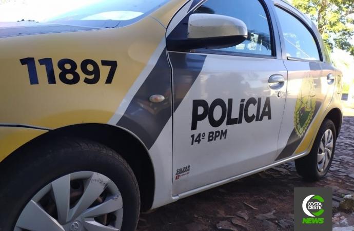 Morador de Santa Helena é preso pela Polícia Militar em Itaipulândia