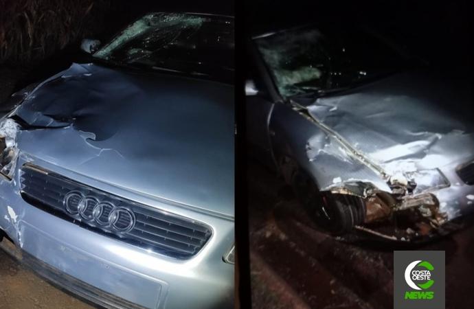 Motociclista morre e mulher fica gravemente ferida após acidente na BR-272 em Guaíra
