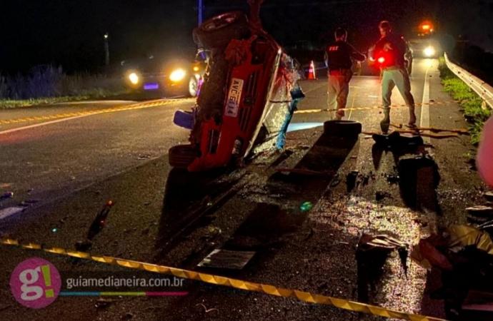Motorista morre em grave acidente na BR 277 em Medianeira