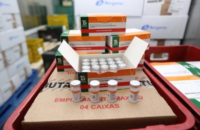 Novo lote da vacina CoronaVac chega ao Paraná