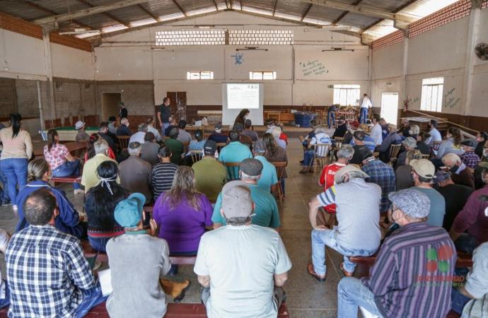 Núcleo de Jacutinga tem a maior participação das pré-conferências da Agricultura e Meio Ambiente em Missal
