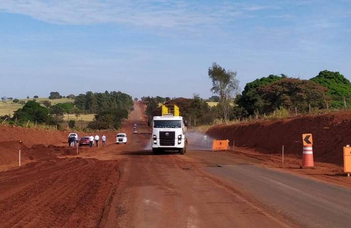 Obras da Estrada Boiadeira já ultrapassam 30% da execução