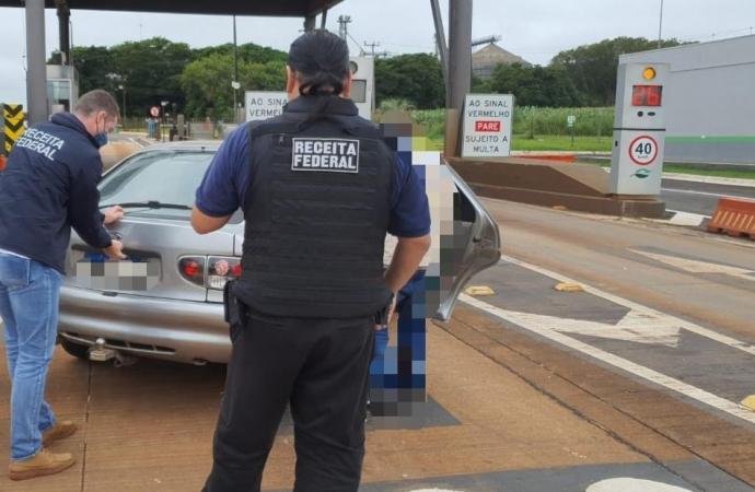 Operações de repressão ao contrabando e descaminho na região resultam em retenção de mercadorias