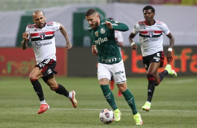 Ouça os gols: Palmeiras bate São Paulo e avança à semifinal da Libertadores