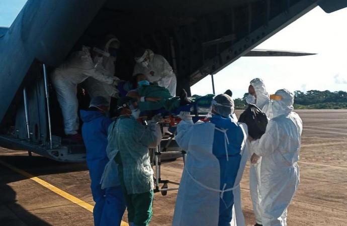 Paraná receberá pacientes com covid-19 vindos de Manaus