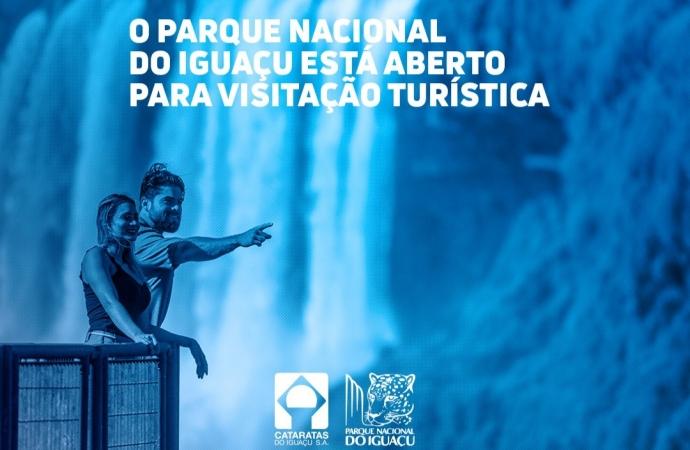 Parque Nacional do Iguaçu permanece aberto para visitação