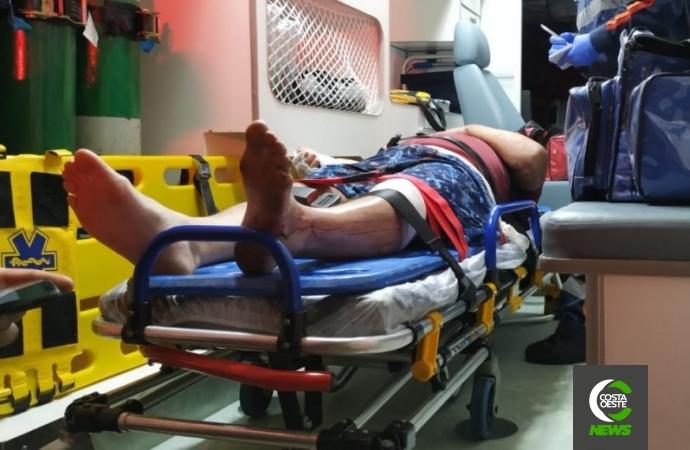 Passageiro de veículo envolvido em grave acidente em Santa Helena é intubado e transferido para Toledo