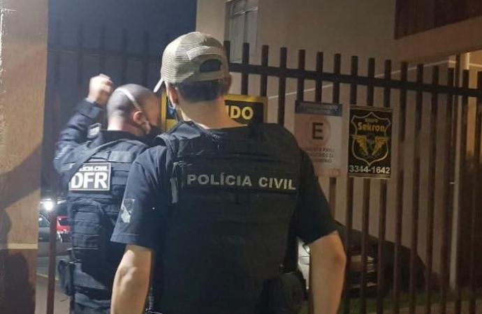 PCPR deflagra operação contra suspeitos de envolvimento em roubo avaliado em R$ 1,2 milhões no Paraná