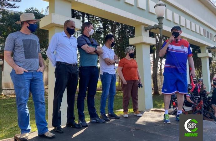 Pedal de Aniversário dos 61 anos de Medianeira aconteceu neste sábado