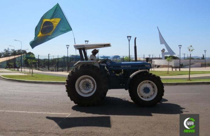 Pela pátria: produtores projetam mobilização nesta terça-feira (07), em Santa Helena